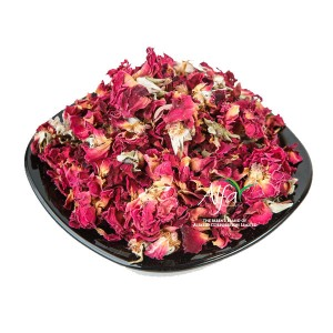 Dry Red Rose Flowers